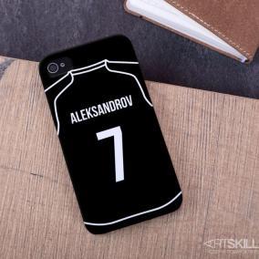 """Именной чехол для iPhone """"Звезда футбола"""" цена от 990 руб"""