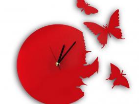 """Настенные часы """"Бабочки"""" цена от 1 890 руб"""