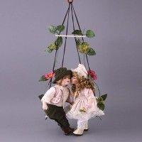 Набор кукол фарфоровых из 2 шт с мягконабивным туловищем цена от 2 496 руб