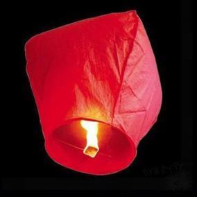 Небесный фонарик (красный) цена от 60 руб