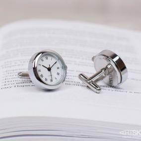 """Запонки """"Часы"""" цена от 3 990 руб"""