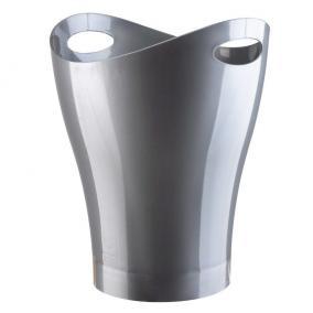 Контейнер мусорный Garbino серебристый цена от 700 руб