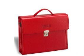 Женский деловой портфель Brialdi Blanes, красный цена от 12 950 руб