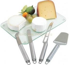 Набор для сыра (4 прибора) цена от 429 руб