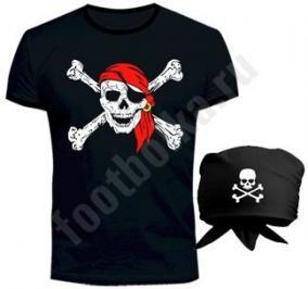 """Костюм halloween """"Пират"""" с банданой цена от 1 299 руб"""