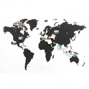 "Карта мира ""World Map True Puzzle Black"", 150x90 cm от 5 990 руб"