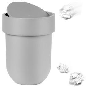 "Контейнер мусорный ""Touch"", с крышкой серый цена от 1 750 руб"