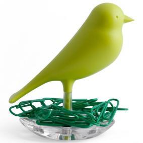 Держатель для скрепок Sparrow зеленый цена от 590 руб