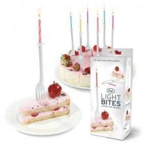 """Подсвечники и свечи для торта """"Light Bites"""" цена от 490 руб"""