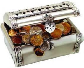 Сундучок с деньгами цена от 17 580 руб