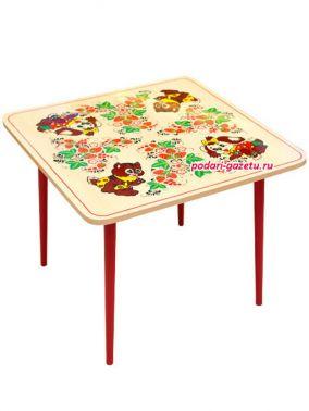 """Детская мебель Хохлома - деревянный детский столик """"Осень"""" цена от 2 990 руб"""