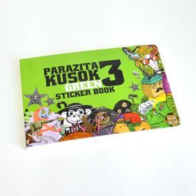 Альбом с наклейками Parazita Kusok 3 цена от 1 500 руб
