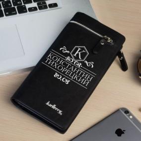 """Именной кошелек-портмоне """"Блэк"""" цена от 1 790 руб"""