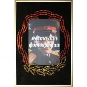 Картина Swarovski «Фоторамка к 23 февраля» цена от 4 290 руб